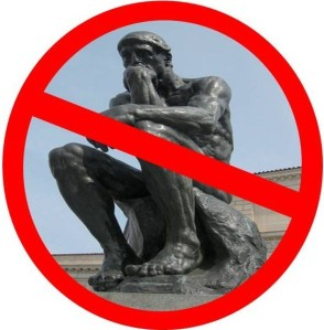 The Thinker Prohibited