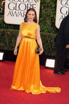 Alyssa Milano 2013 Golden Globes