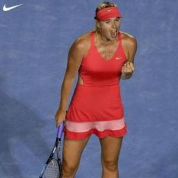 Sharapova-in-her-Australian-Open-2015-Nike-dress